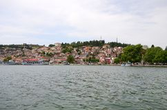Lake Ohrid, Macedonia Stock Image