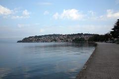 Lake Ohrid in Macedonia Stock Photos