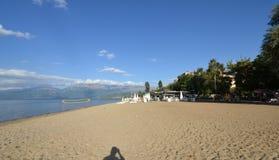 Lake ohrid, pogradec, albania Stock Photo