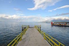 Lake Ohrid, Pogradec, Albania Stock Photos