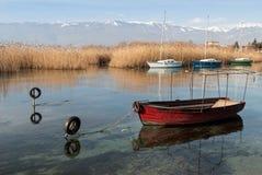 Lake Ohrid, Republic of Macedonia (FYROM) Royalty Free Stock Images