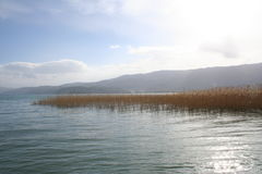 Lake Ohrid Royalty Free Stock Photos