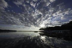 Lake Okoboji royaltyfri fotografi