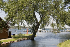 Lake Okoboji in Iowa Stock Photo