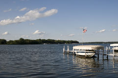 Lake Okoboji in the Summer Royalty Free Stock Images