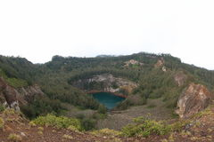 Lake of Old People, Kelimutu Crater Lakes royalty free stock photos