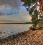Lake Onega, Karelia, Russia Stock Photos