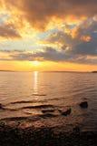 Lake Onega ,Karelia, Russia Stock Photography