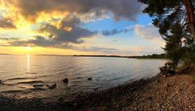 Lake Onega ,Karelia, Russia Stock Photo