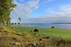 Lake Onega, Russia Stock Photo