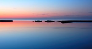 Lake Ontario At Dawn Royalty Free Stock Photo