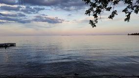 Lake Ontario. Evening shot of Lake ontario Royalty Free Stock Photo