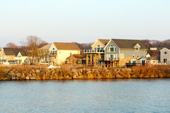 Lake Ontario semesterhem Royaltyfria Bilder