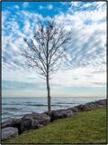 Lake Ontario Shoreline Royalty Free Stock Images