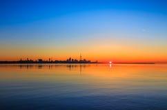 Lake Ontario & Toronto City Stock Photos