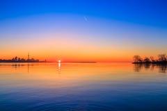 Lake Ontario & Toronto City Stock Photo