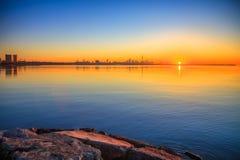 Lake Ontario & Toronto City Royalty Free Stock Image