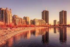 Lake Ontario & Toronto City Royalty Free Stock Images