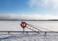 Lake Ontario in the Winter Royalty Free Stock Image