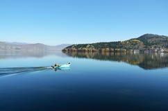 Lake Orestiada Royalty Free Stock Photo