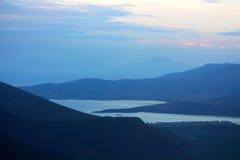 Lake Orestiada in the Kastoria, Greece Stock Photo