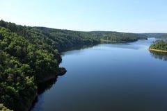 Lake orlik Royalty Free Stock Photo