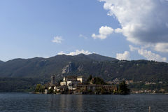 Lake Orta Island Stock Image