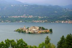 Lake Orta Stock Photo