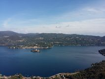 Lake Orta Italy Royalty Free Stock Photography
