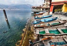 Lake Orta, Orta san Giulio, Italy Stock Photo