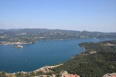 Lake Orta view Stock Photo