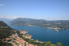 Lake Orta view Royalty Free Stock Images