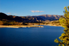 Lake of Orxeta (Spain) Royalty Free Stock Image