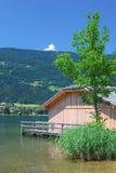 Lake Ossiach,Carinthia,Austria Royalty Free Stock Photos