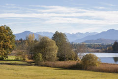Lake Ostersee Royalty Free Stock Photos