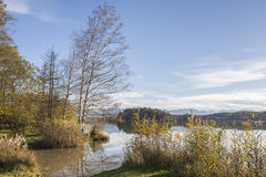 Lake Ostersee Stock Image