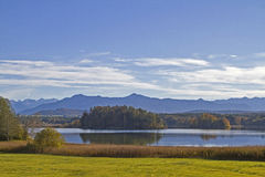 Lake Ostersee Royalty Free Stock Photography