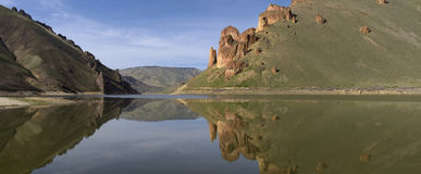 Lake Owyhee at Leslie Gulch Stock Image