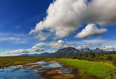 Lake på Alaska arkivbilder