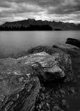 Lake på Queenstown Royaltyfri Foto