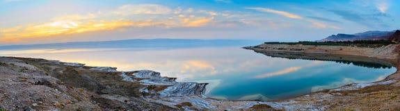 Lake på solnedgång Arkivbild
