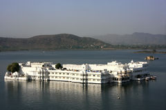 Lake Palace, Jagniwas island, Udaipur, India Royalty Free Stock Photo