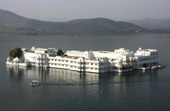 Lake Palace, Jagniwas island, Udaipur, India Stock Photo