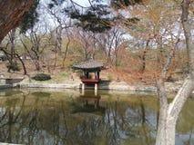 Lake in Palace Stock Photo