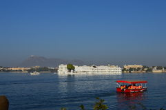 Lake Palace on Lake Pichola Stock Photo