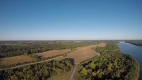 Lake Pan in Missouri stock video footage