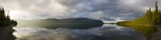 Lake panorama Stock Photo