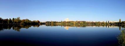 Lake panorama Royalty Free Stock Images