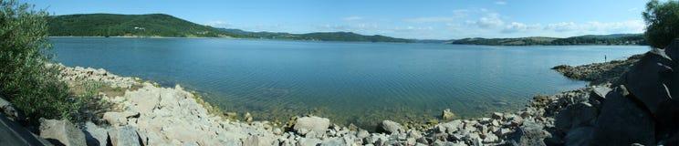Lake panorama Stock Image