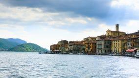 Lake panorama from Royalty Free Stock Photos